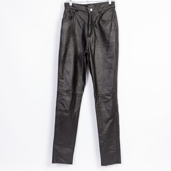 a6c8ee9599984 Wilsons Leather Women Motorcycle Pants NWT. M 5bef6f30aa87707b60513e6a